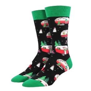 "SockSmith MEN'S ""CHRISTMAS CAMPERS"" SOCKS"