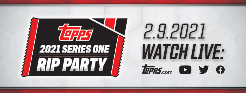 2021 Topps Series 1 Rip Party Breaks