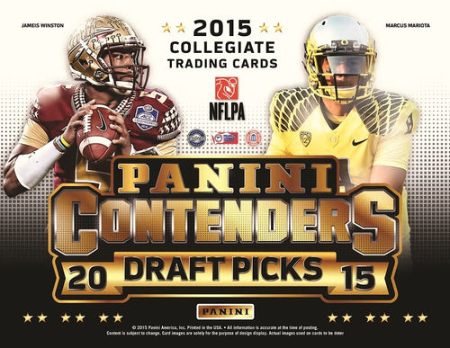 2015 Panini Contenders Draft Picks Football