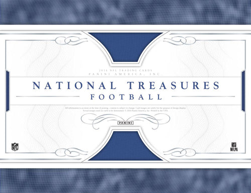 2016 National Treasure Football 4 box Case