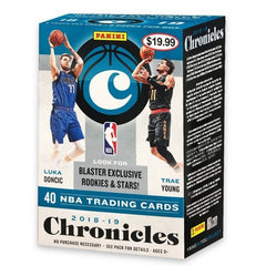 2018-19 Panini Chronicles Basketball Blaster Box