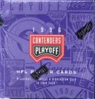 1996 Contenders Playoff Football Hobby Box - All Star Case Breaks