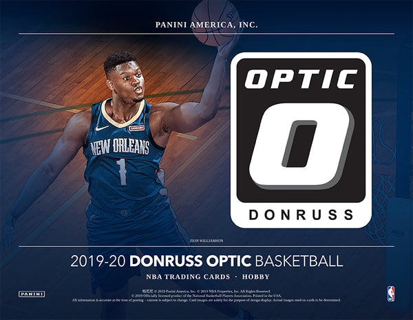 2019-20 Panini Optic Basketball Hobby Box