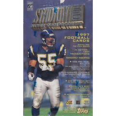 1997 Topps Stadium Club Football hobby box
