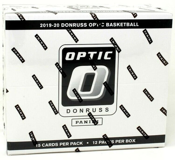 2019-20 Panini Optic Basketball Cello Box