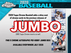 2020 Topps Chrome Baseball 8 Box Jumbo HTA Case Break #1 - Pick Your Team