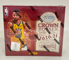 2020-21 Panini Crown Royale Basketball Hobby box