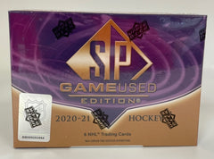 2020-21 Upper Deck Game Used Hockey Box