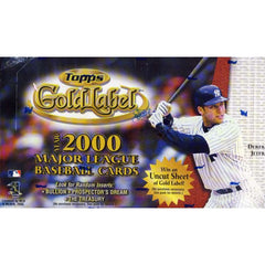 2000 Topps Gold Label Baseball Hobby Box