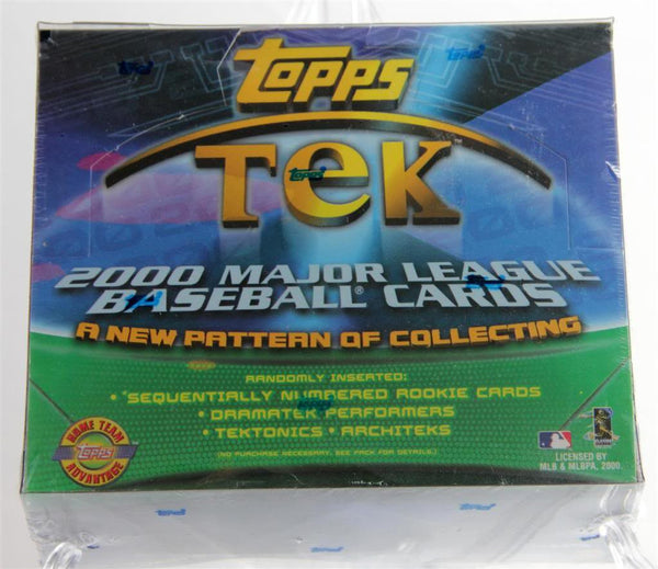 2000 Topps Tek Baseball Hobby 8 Box Case - All Star Case Breaks