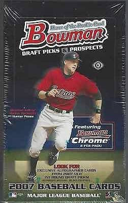 2007 Bowman Draft Picks and Prospects Baseball Hobby Box - All Star Case Breaks - Tim Lincecum RC Auto - Justin Upton - alex Gordon - David Price - Bumgarner