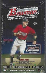 2007 Bowman Draft Picks and Prospects Baseball Hobby Box