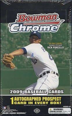 2009 Bowman Chrome Baseball Hobby Box - All Star Case Breaks - Andrew Mccutchen RC - Rick Porcello - Freddy Freeman Auto  - Jeter - Griffey