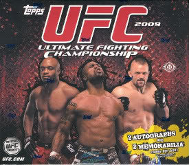 Topps 2009 UFC - All Star Case Breaks