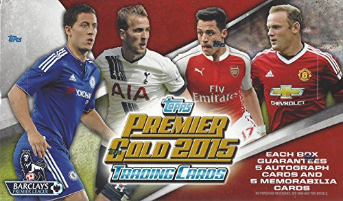 2015 Premier Gold Soccer Hobby Box - All Star Case Breaks