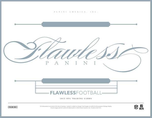 2015 Panini Flawless 2 box Case