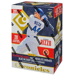 2017 Panini Chronicles Baseball Blaster Box