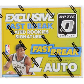 2017-18 Panini Optic Fast Break Basketball Retail Box
