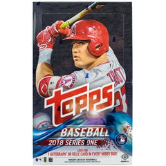 2018 Topps Series 1 Baseball Hobby Box