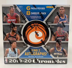 2019-20 Panini Chronicles Basketball Hobby Box