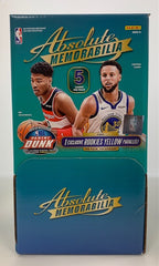 2019-20 Panini Absolute Memorabilia Basketball Hanger Box