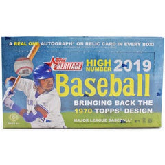 2019 Topps Heritage High Numbers Baseball Hobby Box