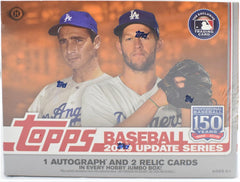 2019 Topps Update Baseball Jumbo 6 Box Sealed Case