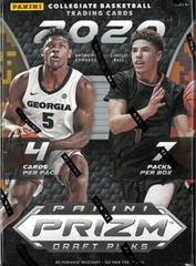 2020-21 Panini Prizm Collegiate Draft Retail Basketball - Blaster box