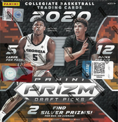 2020-21 Panini Prizm Collegiate Draft Retail Basketball - Mega box