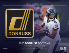 2020 Donruss Football Hobby Box
