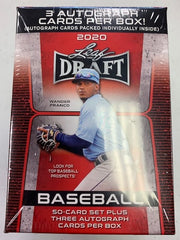 2020 Leaf Draft Blaster Baseball