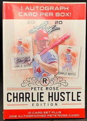 2020 Leaf Pete Rose: Charlie Hustle Box