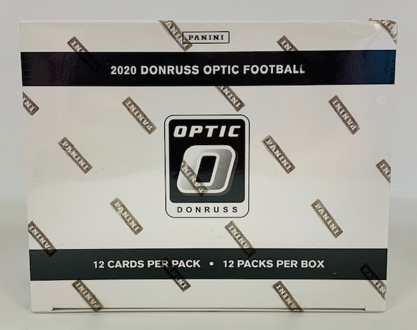 2020 Panini Donruss Optic Football Cello Box