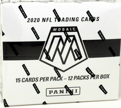 2020 Panini Mosaic Cello Football Box