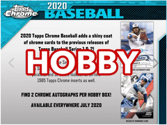2020 Topps Chrome Baseball - Hobby