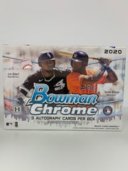 2020 Bowman Chrome Baseball Jumbo HTA