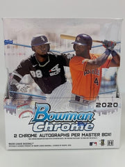 2020 Bowman Chrome Baseball Master Box