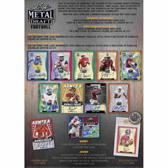 2020 Leaf Metal Draft Football Hobby Box