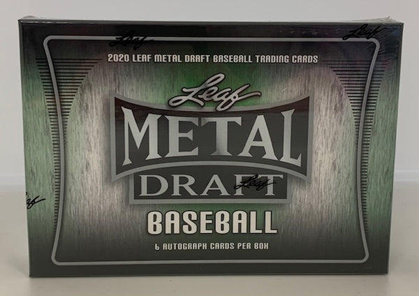2020 Leaf Metal Draft Baseball Hobby box