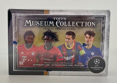 2020-21 Topps Museum Collection UEFA Champions League Soccer Hobby box