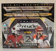 2020 Panini Prizm Football Hobby Jumbo Box