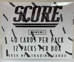 2020 Panini Score Football Cello Box