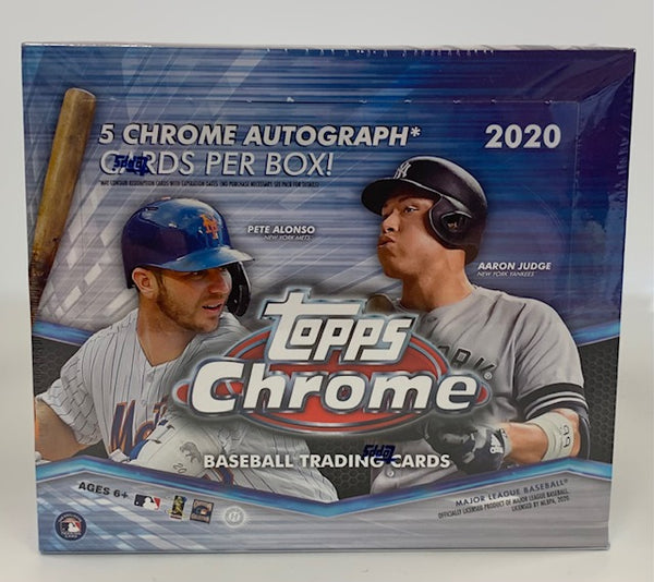 2020 Topps Chrome Baseball - Jumbo