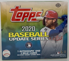 2020 Topps Update Series Jumbo Baseball box