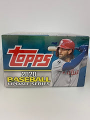 2020 Topps Update Series Baseball Retail box