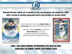 2020 Bowman Chrome Baseball 12 Box Hobby Case Break #1 - Pick Your Team