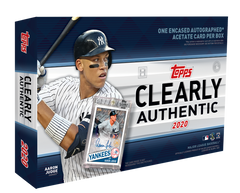 2020 Topps Clearly Authentic Baseball