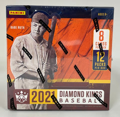 2021 Diamond Kings Baseball Hobby box