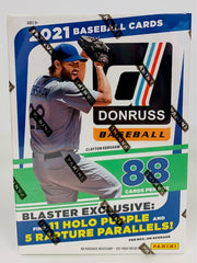 2021 Panini Donruss Baseball Blaster Box
