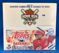 2021 Topps Series 1 Baseball Retail Box